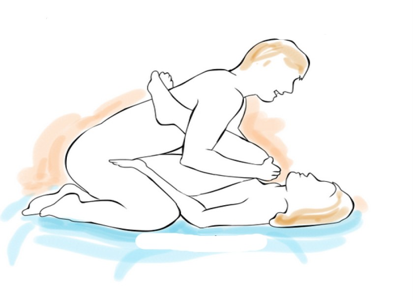 If you have a penis less than 5 inches, these 7 Kamasutra positions are the best for you